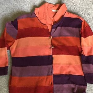 Women's sweater and blouse